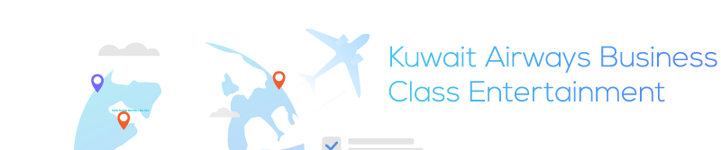 Kuwait Airways Business Class Entertainment