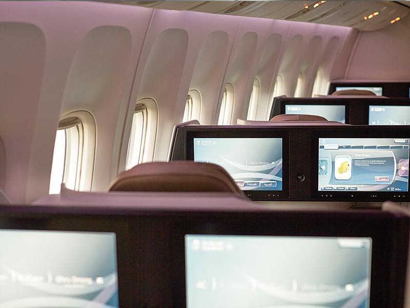 Saudi Airline Business Class 5