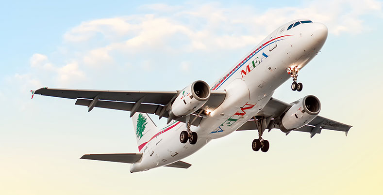 Middle East Airline A320-200