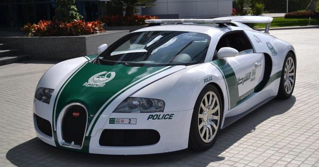 Dubai Police at work