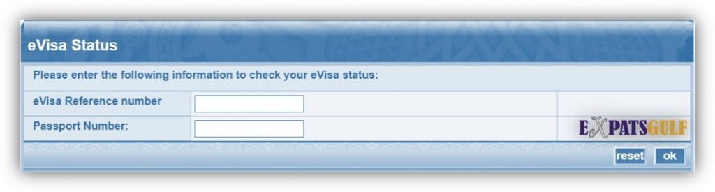 Kuwait visa Check Old Method with passport