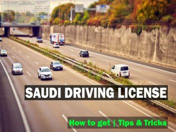 How to get Saudi Driving License