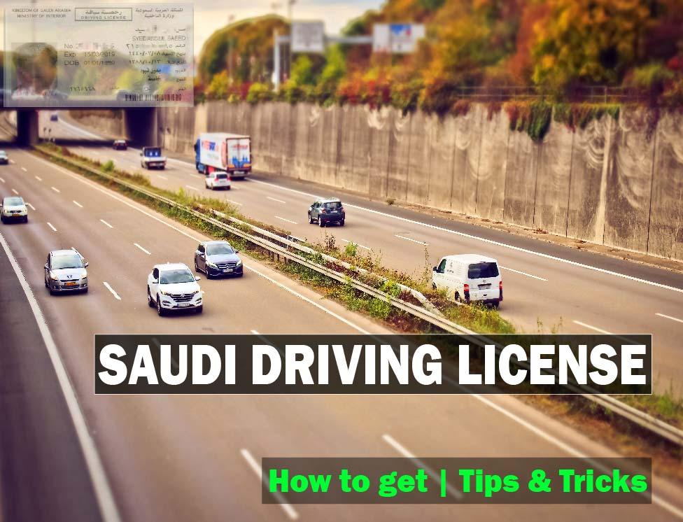 Saudi Driving License