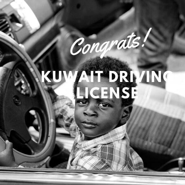 KUWAIT DRIVING LICENSE