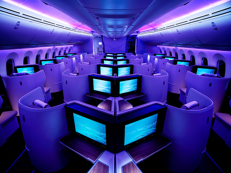 Saudi Airline Business Class 1