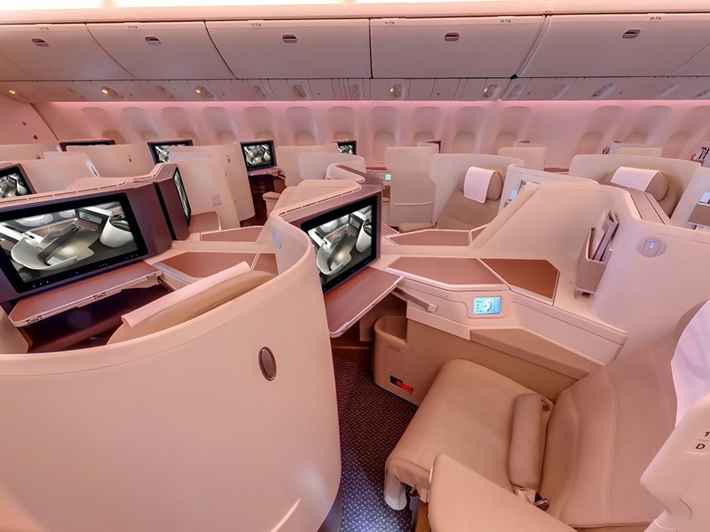 Saudi Airline Business Class 2