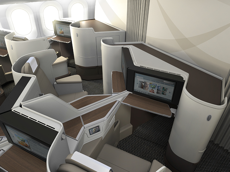 Saudi Airline Business Class 3