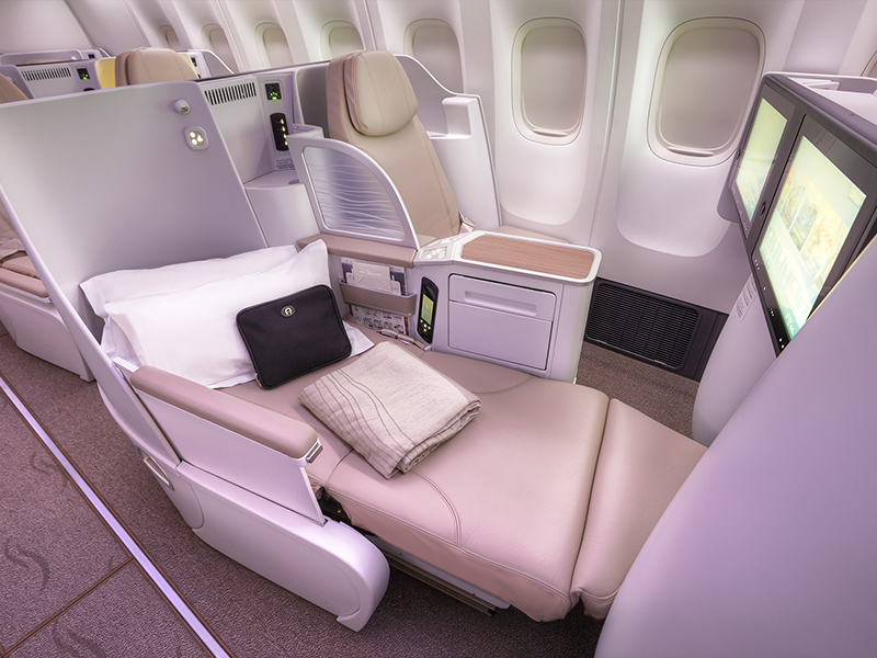 Saudi Airline Business Class 6