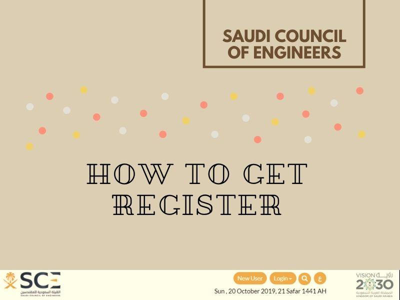 Saudi Council of Engineers Registration